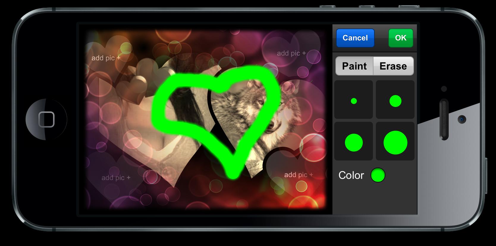 piZap paint